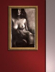 Detail Image for art Female Nude in Shadows
