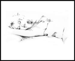 Art: Sleeping Nude January-04 by Artist David Mott