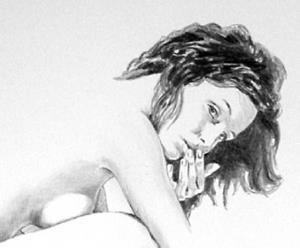 Detail Image for art Kneeling Figure,  August 7-03