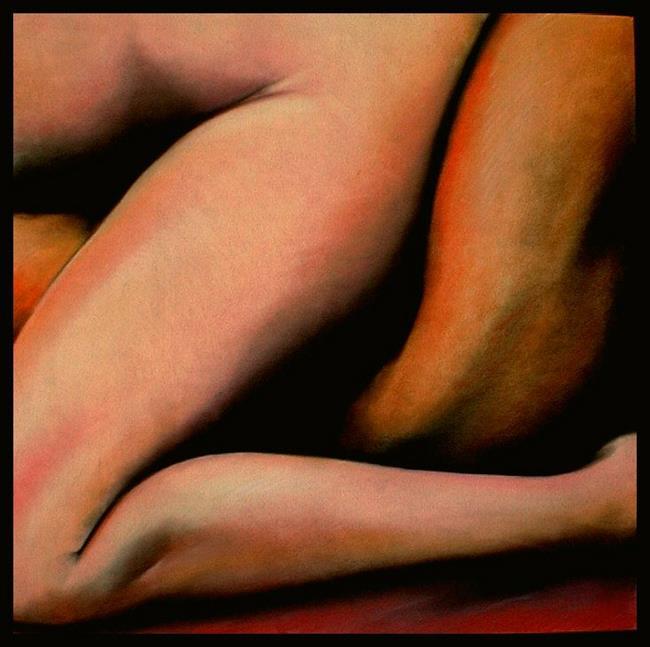 Art: Red Blanket #1 by Artist David Mott