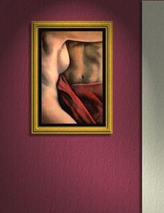 Detail Image for art Red Blanket #2