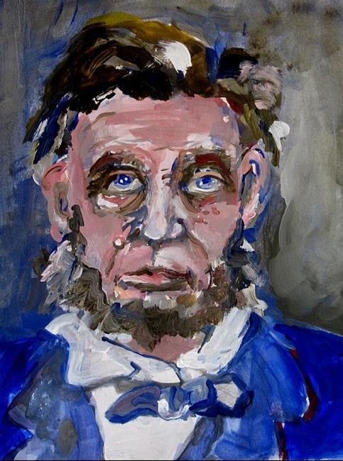 Art: Old Abe- SOLD by Artist Delilah Smith
