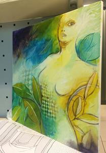 Detail Image for art ninfa verde