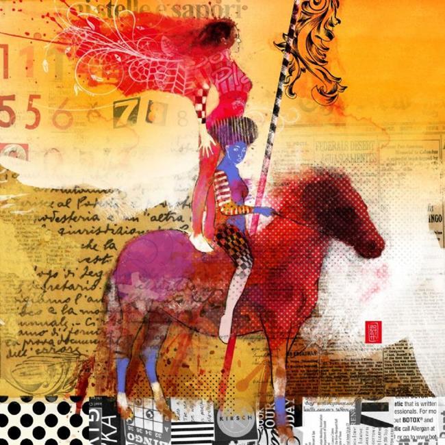 Art: amazzoni by Artist Alessandro Andreuccetti