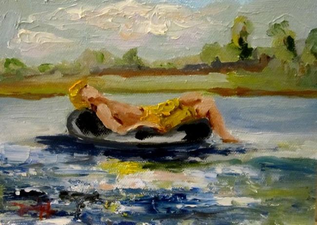 Art: The Dog Days of Summer-sold by Artist Delilah Smith