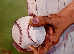 Art: Play Ball by Artist Delilah Smith