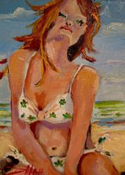 Art: Irish Diva by Artist Delilah Smith