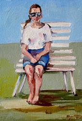 Art: Waiting by Artist Delilah Smith
