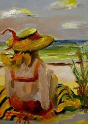 Art: Beach Diva No. 8-sold by Artist Delilah Smith