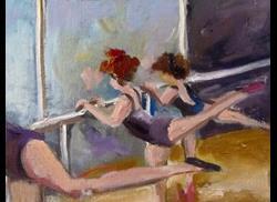 Art: Ballet Dancers by Artist Delilah Smith