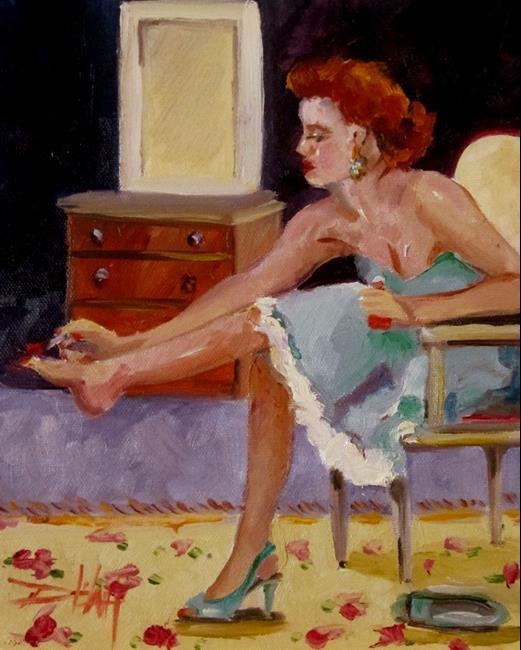 Art: Pedicure by Artist Delilah Smith