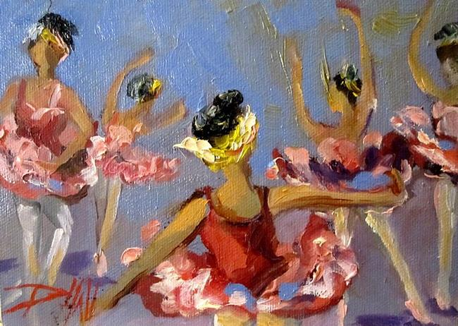 Art: Ballet Dancer by Artist Delilah Smith