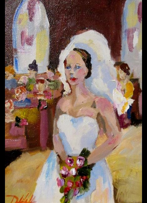 Art: The Bride by Artist Delilah Smith