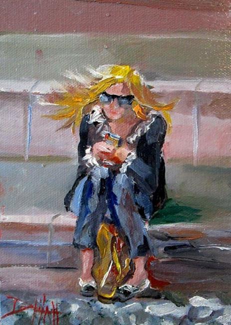 Art: New York Girl by Artist Delilah Smith
