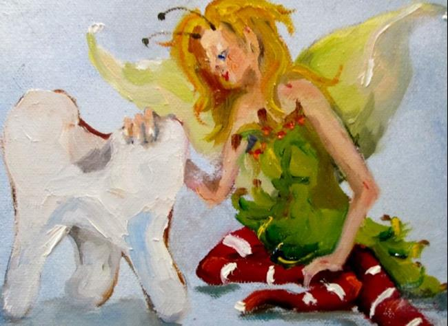 Art: Tooth Fairy by Artist Delilah Smith
