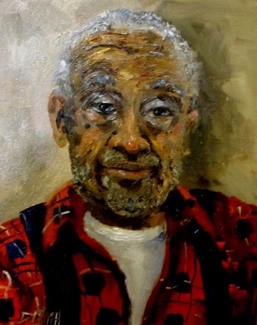 Art: The Preacher by Artist Delilah Smith