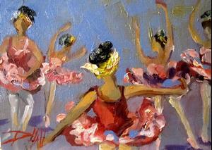 Detail Image for art Ballet Dancer