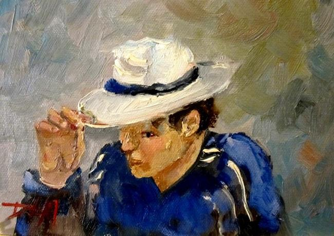 Art: I Tip My Hat by Artist Delilah Smith