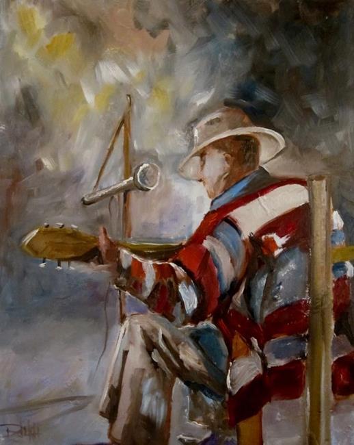 Art: Texas Blues by Artist Delilah Smith