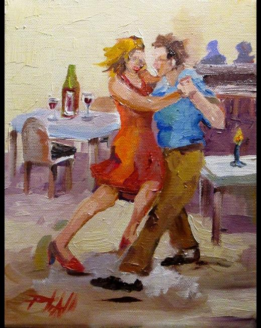 Art: Let's Dance by Artist Delilah Smith