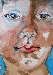 Art: Aime Face No. 13 by Artist Delilah Smith
