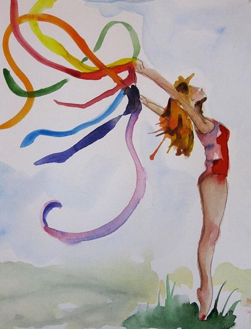 Art: The Colors of Life-sold by Artist Delilah Smith