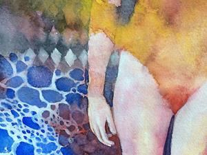 Detail Image for art Swimmer