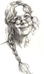 Art: self portrait (NFS) by Artist Cathy  (Kate) Johnson