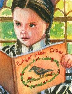 Detail Image for art Crow's Good Read