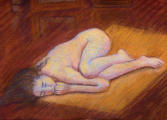 Art: Fatal Fetal by Artist Erika Nelson