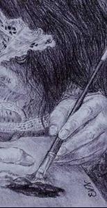 Detail Image for art Portrait of a Portrait Artist