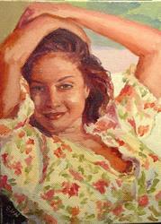 Art: Summer by Artist Erika Nelson