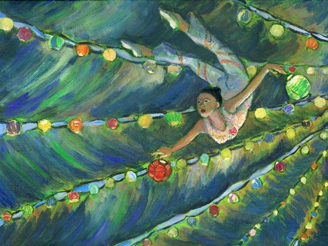 Art: Leap of Faith  #3 by Artist Erika Nelson