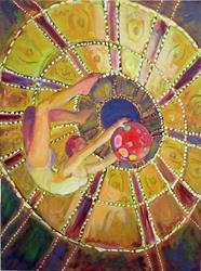 Art: Leap of Faith #2 by Artist Erika Nelson