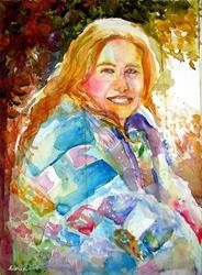 Art: My Best Friend's H-quilt by Artist Erika Nelson