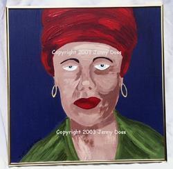 Art: Marie Laveau by Artist Jenny Doss