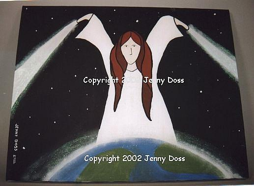 Art: Earth Angel by Artist Jenny Doss