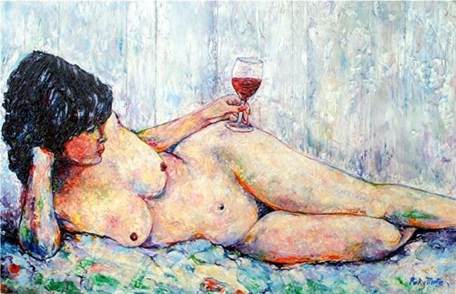 Art: Drinking Alone - NFS by Artist Ulrike 'Ricky' Martin