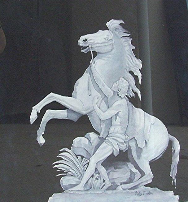 Art: Statue - NFS by Artist Ulrike 'Ricky' Martin