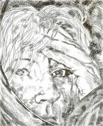Art: Reflections Of Me by Artist Kim Loberg