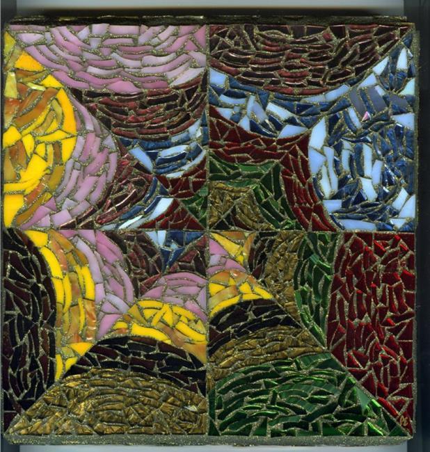 Art: Galaxy  (sold) by Artist Dorothy Edwards
