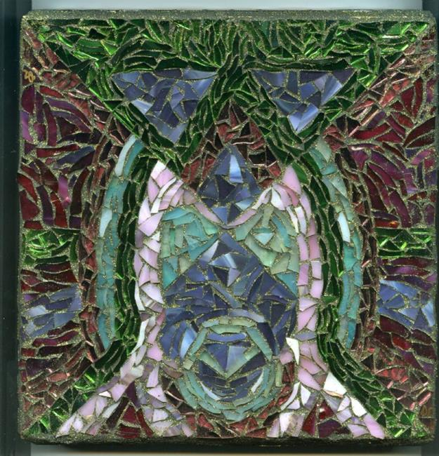 Art: Inverted View - SOLD by Artist Dorothy Edwards