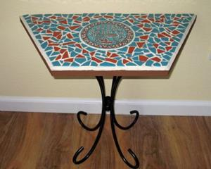 Detail Image for art Peacock Bistro Table
