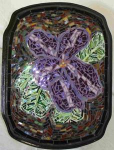 Detail Image for art Varigated African Violet (sold)