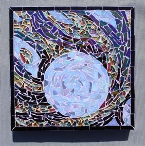 Detail Image for art Blue Comet  - (Sold)