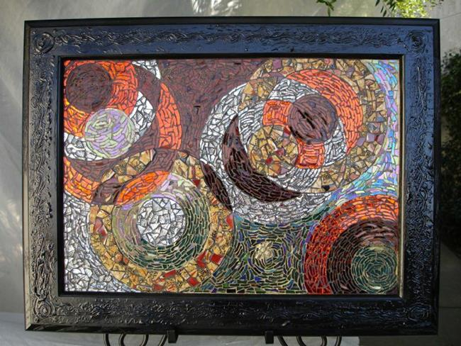 Art: Honey Bee Dusk View (sold) by Artist Dorothy Edwards