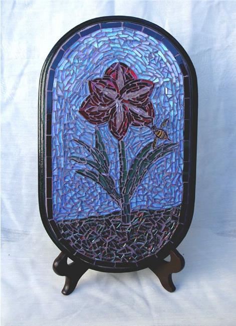 Art: Amaryllis (sold) by Artist Dorothy Edwards