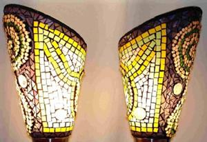 Detail Image for art Cone Lamps (sold)