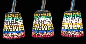 Detail Image for art Hanging Cone Lamps
