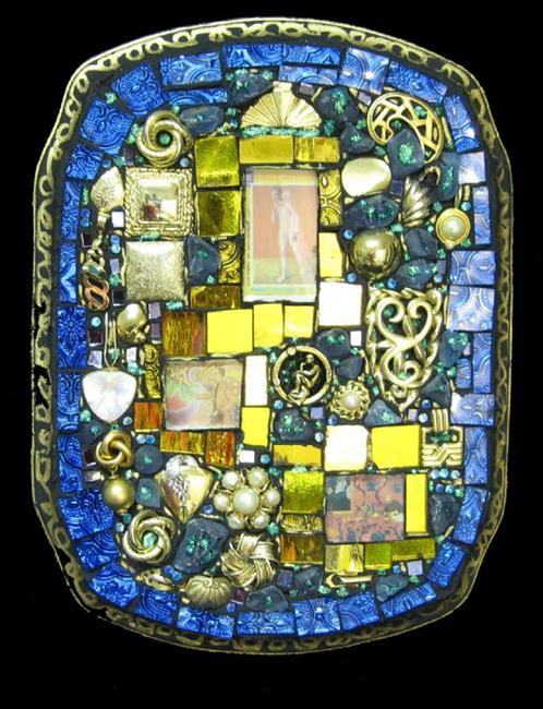 Art: Anne's Pablo (sold) by Artist Dorothy Edwards